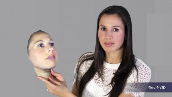 Imprimer son visage MirrorMe3D